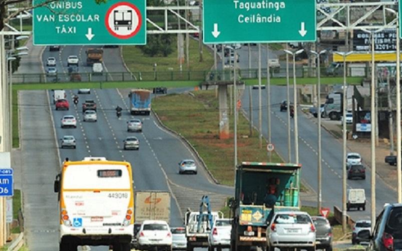 Brasília trânsito DF