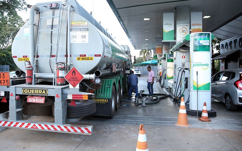 Posto de gasolina DF abastecimento