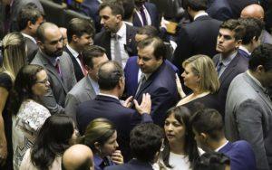 Congresso Nacional sessão vetos