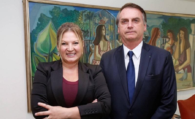 Deputada Joice Hasselmann, do PSL, teria sofrido um atentado