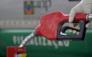 Posto de Combustível bomba de abastecimento