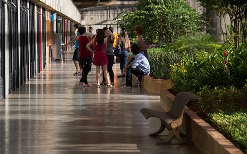 Universidade de Brasília UnB corredor