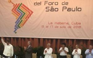 Foro de São Paulo congresso