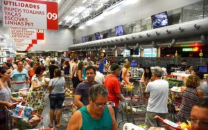 Compras comércio supermercado