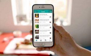 Celular aplicativos delivery