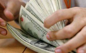 Dólar contagem