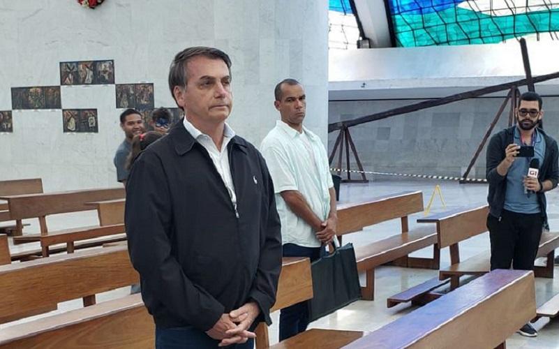 Bolsonaro Catedral de Brasília