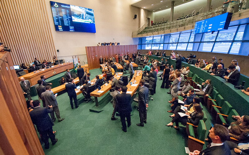 Câmara Legislativa plenário