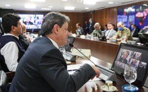 Videoconferência ministros e governadores