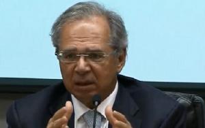 Ministro Paulo Guedes entrevista
