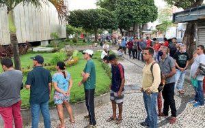auxílio emergencial fila