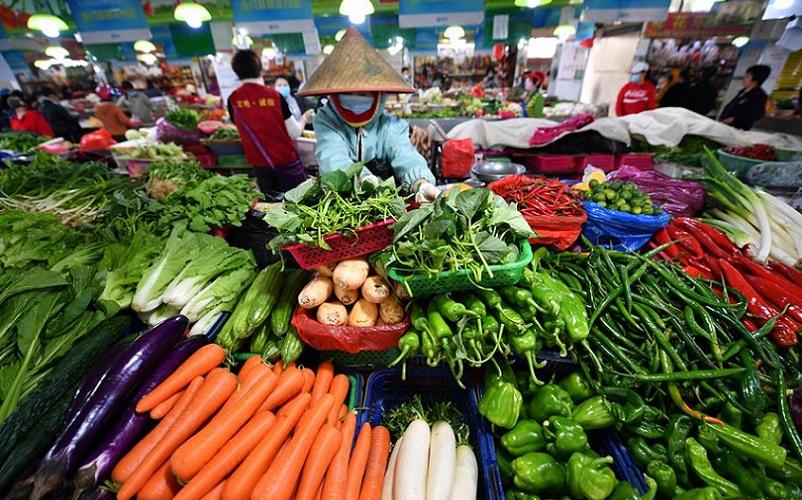 China verduras