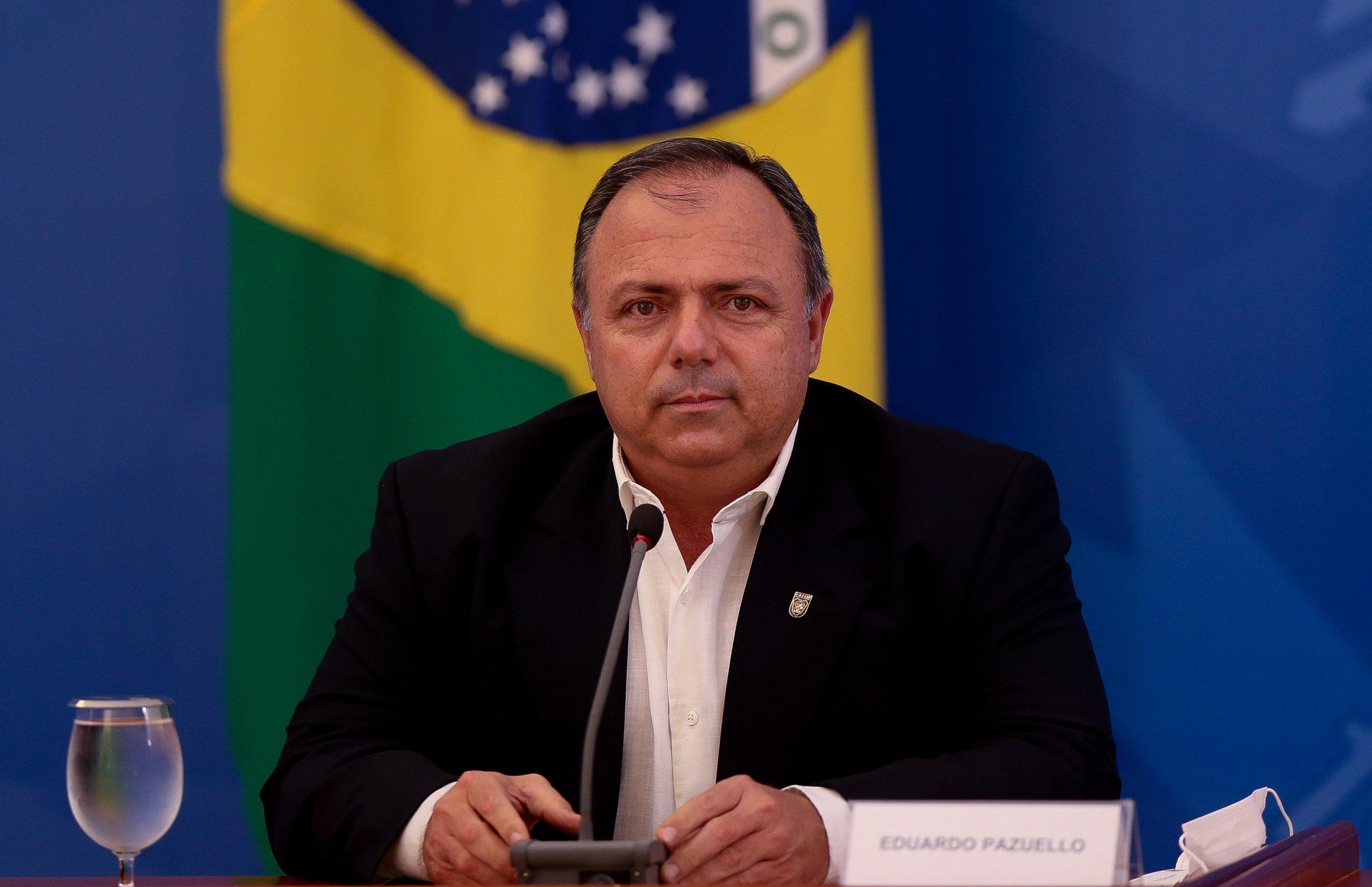 Secretário-executivo do ministério, general Eduardo Pazuello