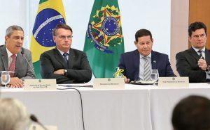 Reunião ministerial 22 de abril
