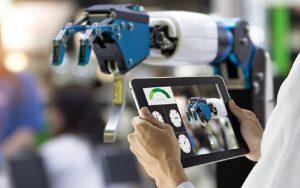 robô tablet