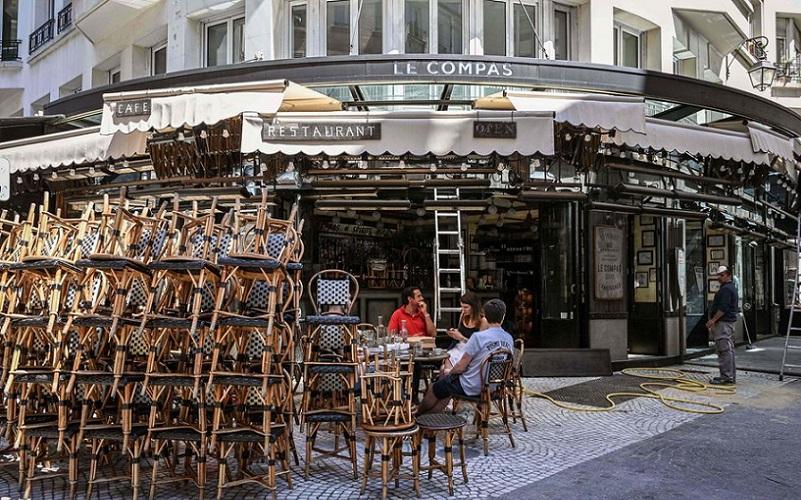 França restaurantes reabertos