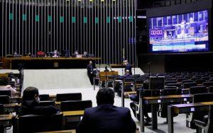 Câmara dos Deputados sessão virtual