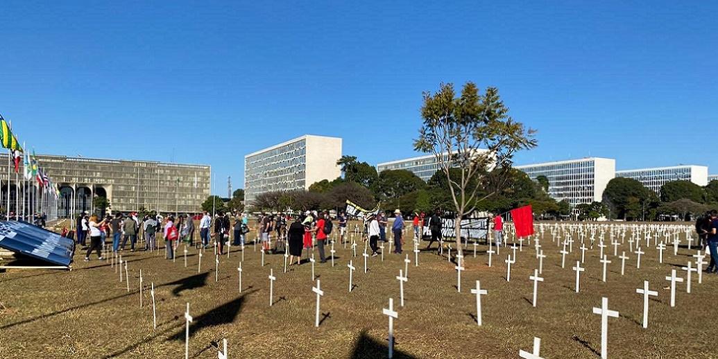 Esplanada Homenagem às vítimas do Covid-19