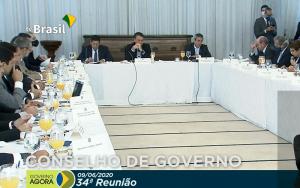 Reunião do Conselho de Governo