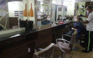 Setor de serviços barbeiro