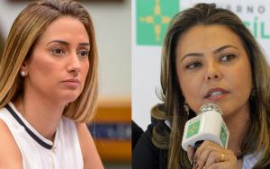 Deputada Flávia Arruda e senadora Leila Barros