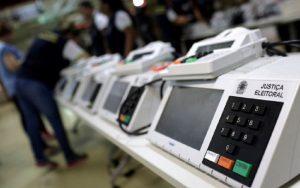 Urnas eletrônicas eleições