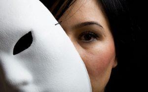 Mentira máscara