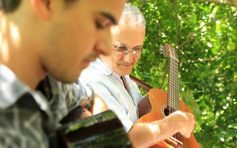 violeiros Marcos Mesquita e Vitor Mesquita