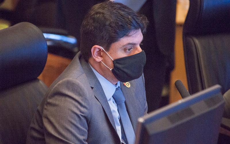 Deputado distrital Rodrigo Delmasso