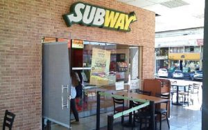 Loja da Subway DF