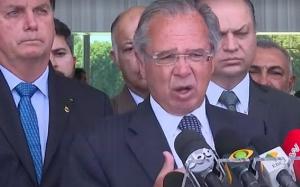 Guedes e Jair Bolsonaro Renda Cidadã