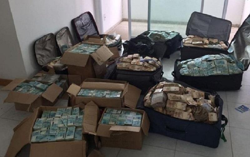 Malas com dinheiro Geddel Vieira Lima