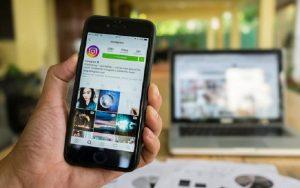 Instagram celular