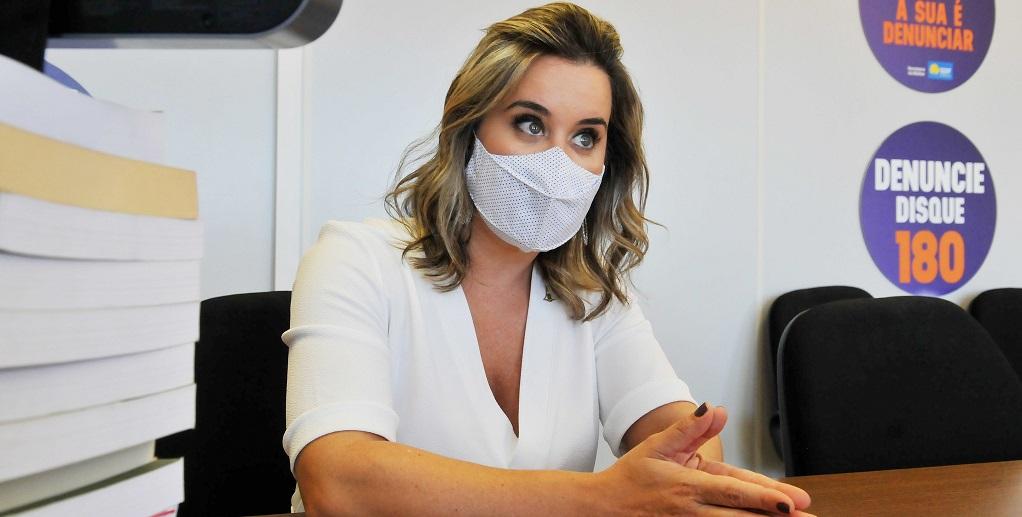 Ericka Filippelli, a secretária da Mulher, diz que o empreendedorismo facilita a autonomia econômica das mulheres/Joel Rodrigues/Agência Brasília