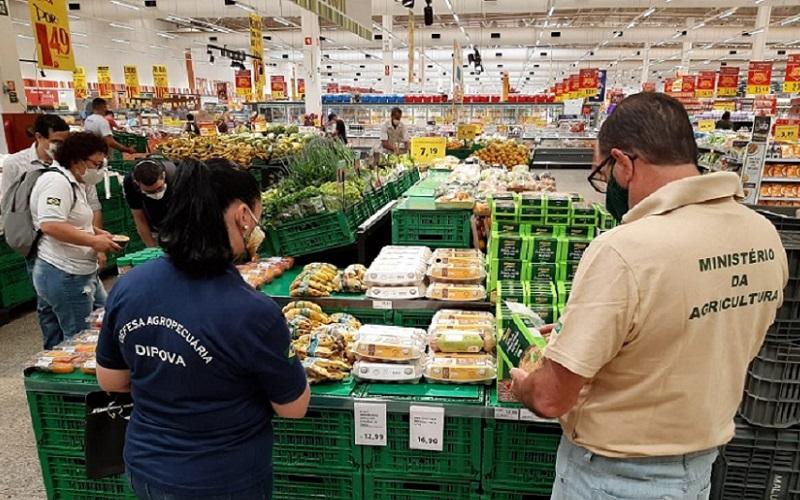 Agricultura orgânica fiscalização DF