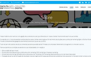 Página site Facilita Info