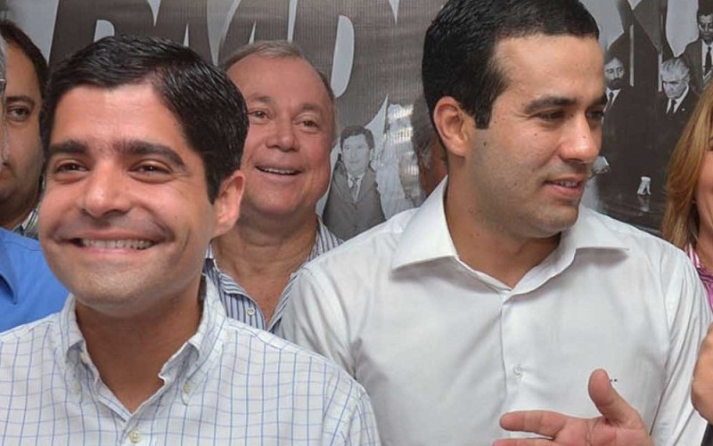 ACM Neto e o prefeito eleito de Salvador Bruno Reis