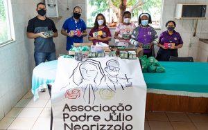 Campanha doação sabonetes DF