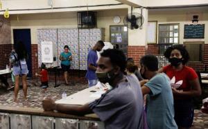 Eleições municipais votação