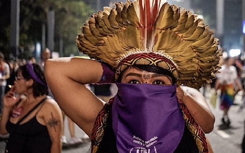 Começou evento em Brasília dedicado às mulheres indígenas