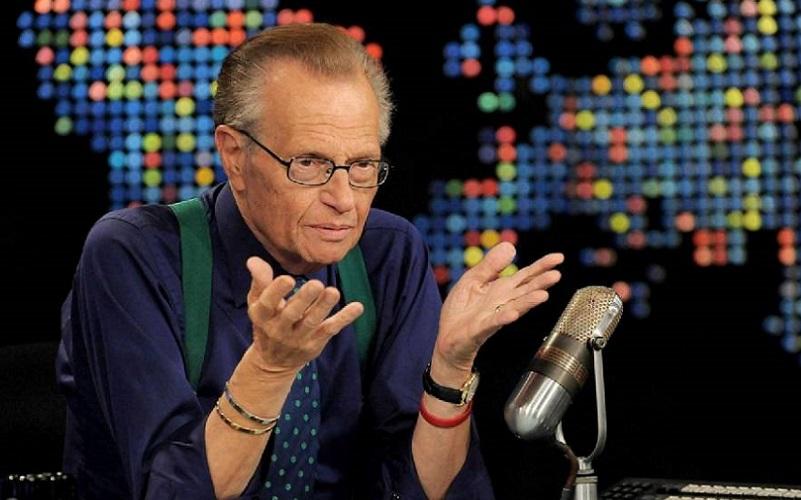 apresentador americano Larry King