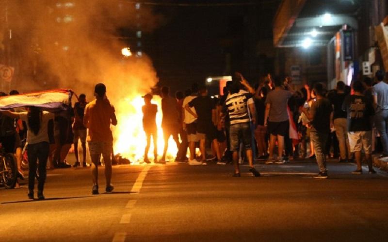 Paraguai Manifestação