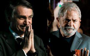 Lula da Silva e Jair Bolsonaro