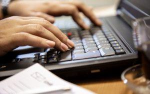 Computador teclado tecnologia
