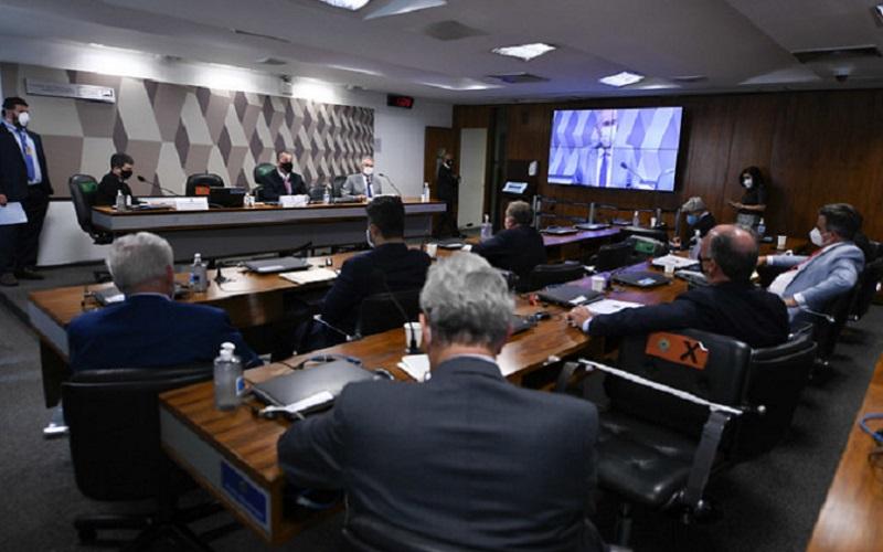 CPI da Covid plenário Misto Brasília