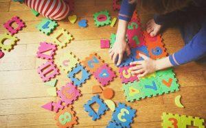 Criança trabalho lúdico