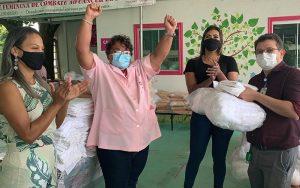 Doação Rede Feminina Hospital de Base DF