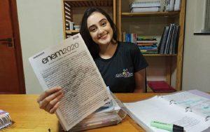 Estudante Isabela Saraiva
