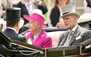 Inglaterra Rainha e príncipe Philip
