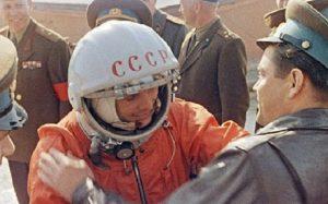 Cosmonauta Yuri Gagarin Rússia